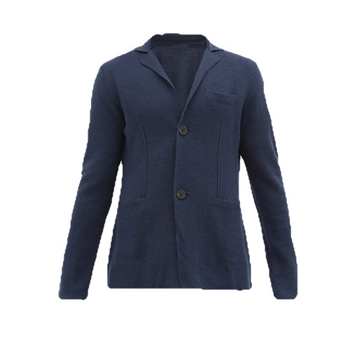 Wool and Cashmere-blend Cardigan